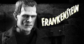 Frankenstein One:12 Collective – Action Figure Perfeita Monstros do Universal Studio Mezco