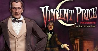 Vincent Price 1:6 – Action Figure Perfeita Ícones do Cinema de Terror