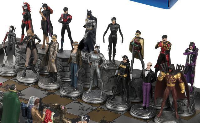 Xadrez-Eaglemoss-DC-Comics-Complete-Batman-Chess-Set-02