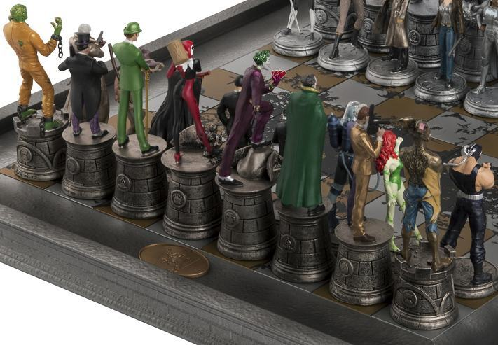 Xadrez-Eaglemoss-DC-Comics-Complete-Batman-Chess-Set-03