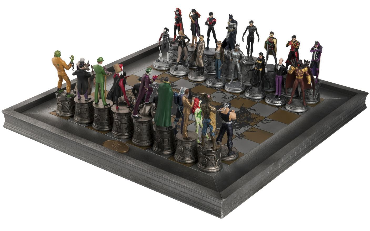 Xadrez-Eaglemoss-DC-Comics-Complete-Batman-Chess-Set-04