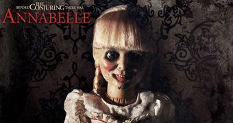 Annabelle, a Boneca Assombrada com 46 cm de Altura!