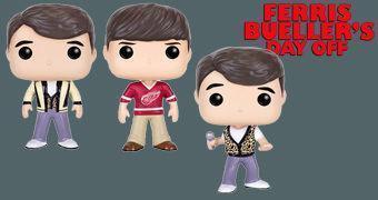 Bonecos Pop! do Filme Curtindo a Vida Adoidado: Ferris Bueller e Cameron Frye
