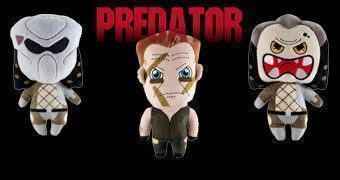 Bonecos de Pelúcia Predator Phunny da Kidrobot