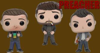 Preacher Pop! – Bonecos de Vinil da Nova Série da AMC