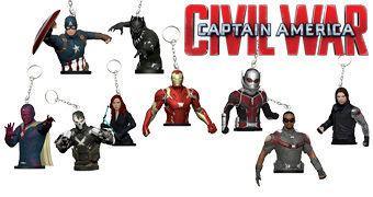 Nove Chaveiros Capitão América: Guerra Civil