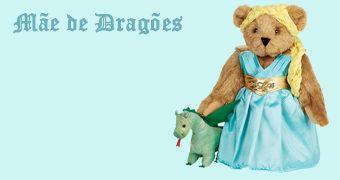 Feliz Dia das Mães: Ursa de Pelúcia Daenerys, a Mãe de Dragões