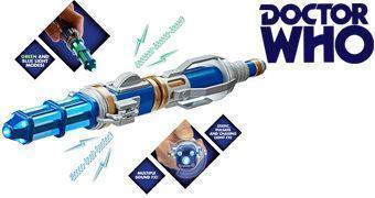 Doctor Who Sonic Screwdriver: 12º Doctor – Nova Chave de Fenda Sônica de Peter Capaldi