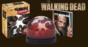 Globo de Neve The Walking Dead com Zumbis e Sangue!