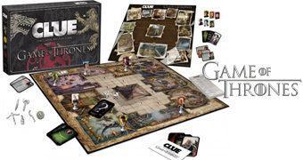 Jogo Detetive Game of Thrones Clue