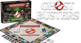 Ghostbusters Monopoly – Jogo de Tabuleiro dos Caça-Fantasmas Originais!