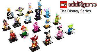 Mini-Figuras LEGO Disney (Blind-Bags)