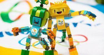 LEGO Tom e Vinicius – Mascotes dos Jogos Olímpicos 2016 no Rio de Janeiro