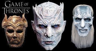 Máscaras Perfeitas Game of Thrones: Caminhante Branco, Rei da Noite e Filho da Harpia