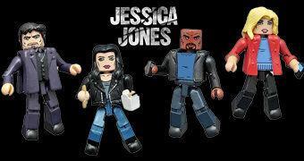 Jessica Jones Minimates – Mini-Figuras da Série do Netflix