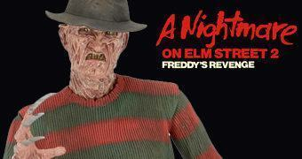 Freddy Krueger Escala 1:4 – Action Figure de A Hora do Pesadelo 2: A Vingança de Freddy