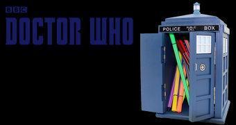 Organizador de Mesa Doctor Who TARDIS