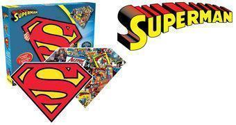 Quebra-Cabeça Superman com 2 Lados