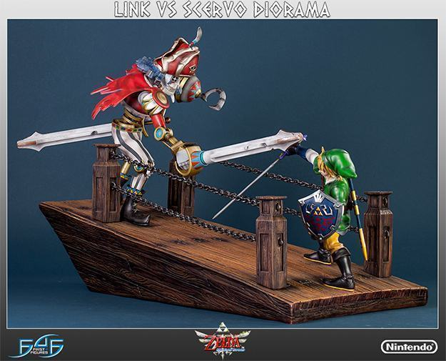 The-Legend-of-Zelda-Skyward-Sword-Link-vs-Scervo-Diorama-01