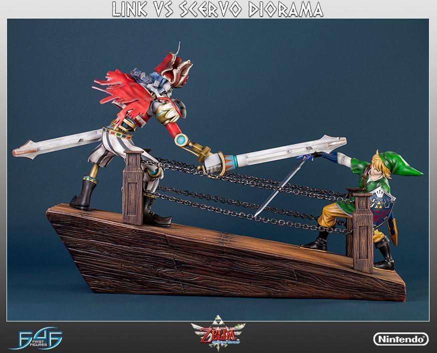 The-Legend-of-Zelda-Skyward-Sword-Link-vs-Scervo-Diorama-04
