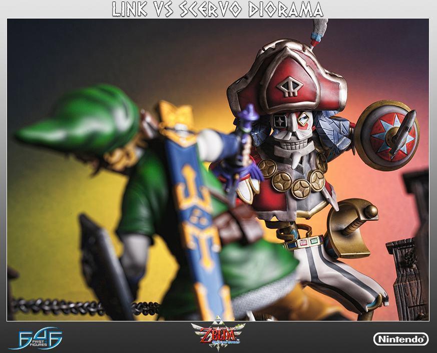 The-Legend-of-Zelda-Skyward-Sword-Link-vs-Scervo-Diorama-07