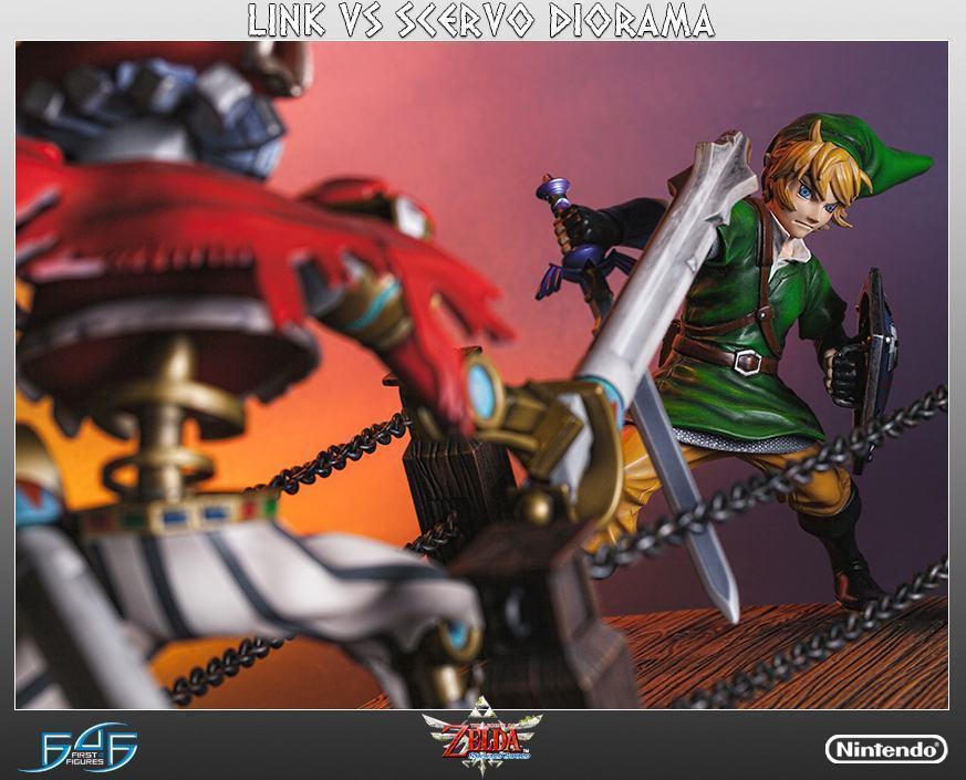 The-Legend-of-Zelda-Skyward-Sword-Link-vs-Scervo-Diorama-08