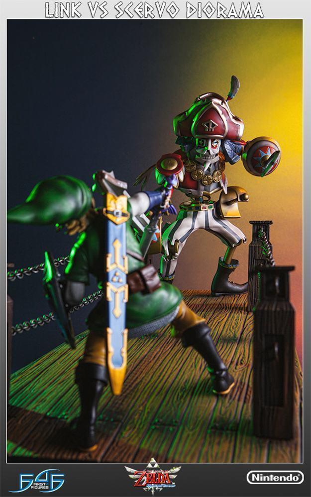 The-Legend-of-Zelda-Skyward-Sword-Link-vs-Scervo-Diorama-09