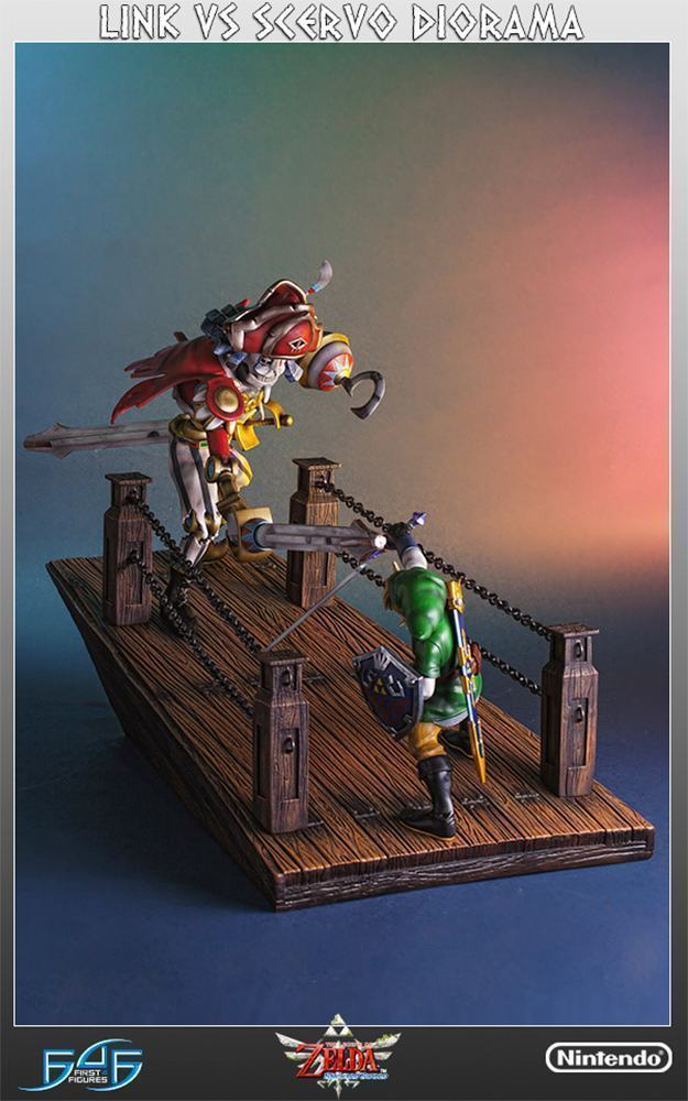 The-Legend-of-Zelda-Skyward-Sword-Link-vs-Scervo-Diorama-10