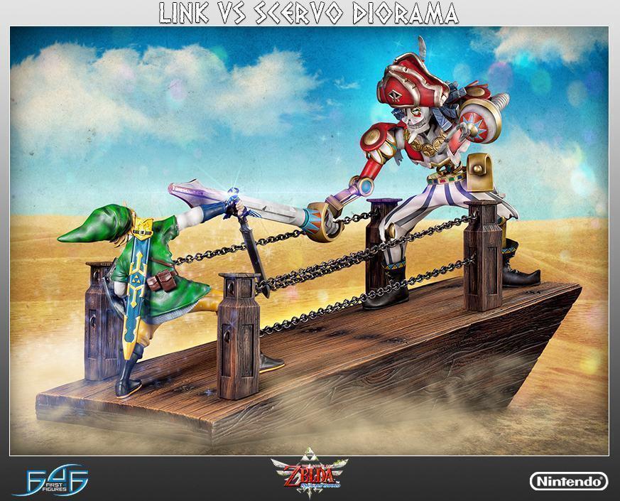 The-Legend-of-Zelda-Skyward-Sword-Link-vs-Scervo-Diorama-12