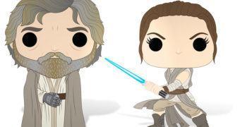 Funko Pop! Star Wars: Nova Linha traz Rey com Sabre de Luz, Luke Ermitão e Maz!