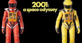 2001 – Uma Odisseia no Espaço Action Figures Medicom MAFEX: Dr. Dave Bowman e Dr. Frank Poole