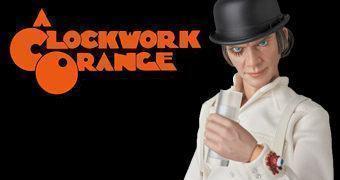 Alex Clockwork Orange RAH – Action Figure Medicom 1:6 Laranja Mecânica de Stanley Kubrick