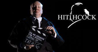 Sir Alfred Hitchcock Action Figure Perfeita Escala 1:6