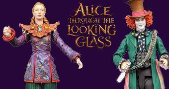 """Alice do Outro Lado do Espelho Action Figures Select 7"""""""
