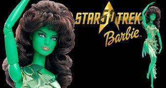 Barbie Star Trek 50 Anos: Vina Orion Girl