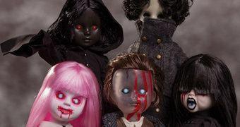 Living Dead Dolls Série 31: Não Apague as Luzes!