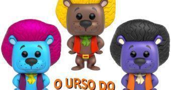 O Urso do Cabelo Duro Pop! – Bonecos Funko do Desenho Animado da Hanna-Barbera