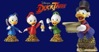 Bustos Disney Grand Jester DuckTales: Tio Patinhas e Huguinho, Zezinho e Luisinho