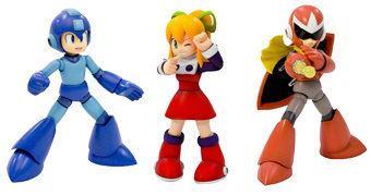 Mega Man Capcom – Kits Plásticos de Montar da Kotobukiya