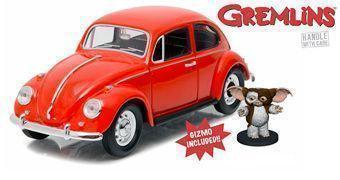 Gremlins: Fusca Vermelho 1967 Escala 1:24 com Gizmo