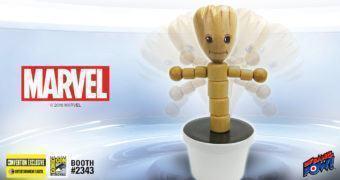 Groot Wood Push Puppet – Um Brinquedo do Passado (Guardiões da Galáxia)