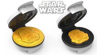 Máquina de Waffles Star Wars Stormtrooper