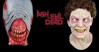 Máscaras da Série Ash vs Evil Dead: Eligos e Vivian Deadite