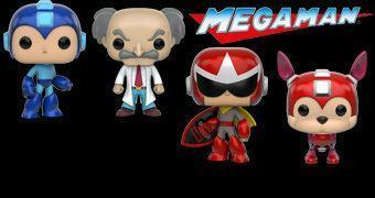 Mega Man Pop! Bonecos do Videogame Clássico