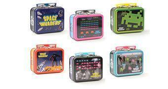 Mini Lancheiras de Lata Space Invaders