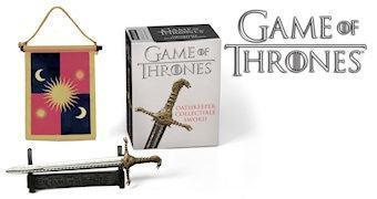 Game of Thrones: Miniatura da Espada Cumpridora de Promessas (Oathkeeper)