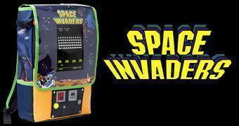 Mochila Space Invaders Arcade