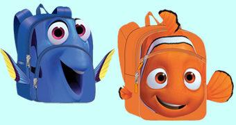 Mochilas Procurando Dory: Nemo e Dory