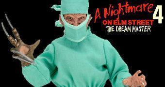 Dr. Freddy Krueger Cirurgião – Action Figure Neca Retro A Hora do Pesadelo 4: O Mestre dos Sonhos