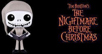 Pajama Jack Skellington Pop! – Jack Skellington de Pijama (Nightmare Before Christmas)